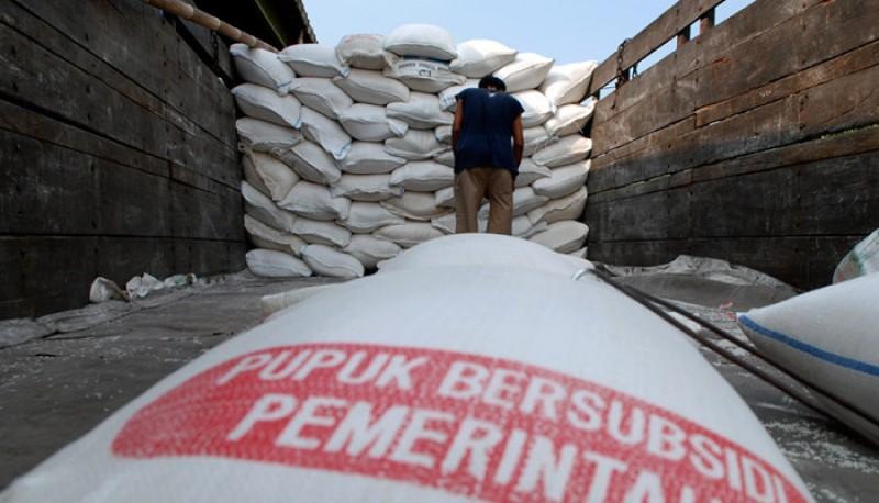 Stok Pupuk di Lampung Aman Hingga Akhir Tahun