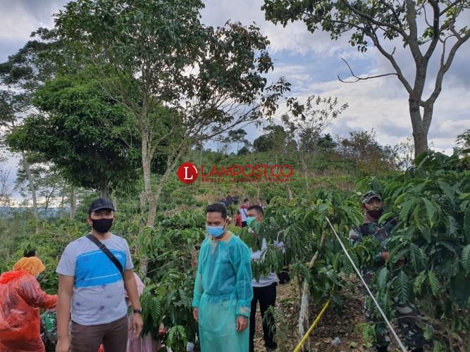 Suami Bunuh Istri dan Anak di Perkebunan Kopi Airhitam Lambar