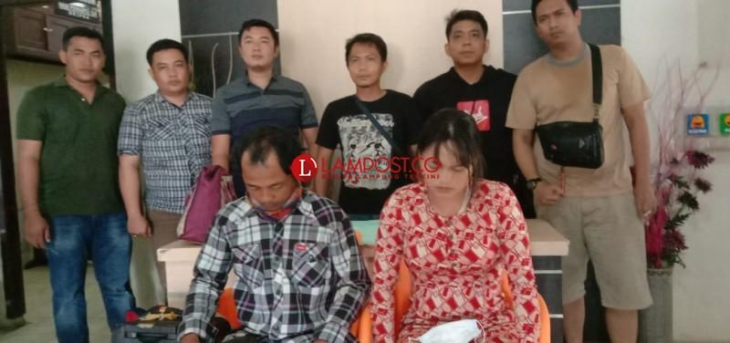 Suami Istri Pembuang Bayi di Sungai Tulangbawang Ditangkap