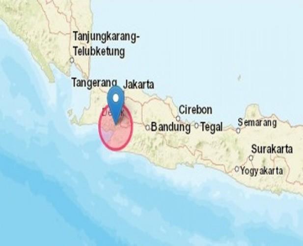 Sukabumi Diguncang Gempa Magnitudo 5,0