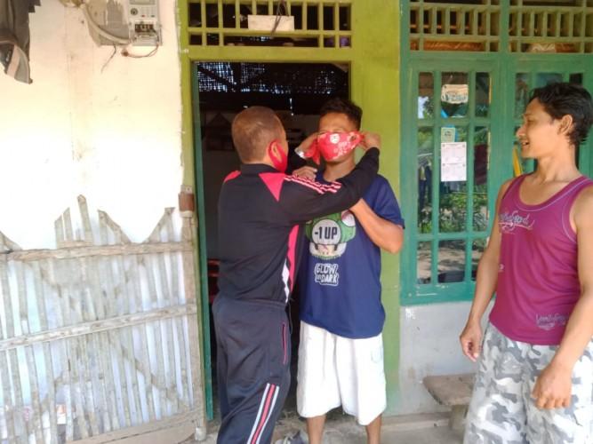 Sukadana Timur Gencar Sosialisasi Protokol Kesehatan 3M