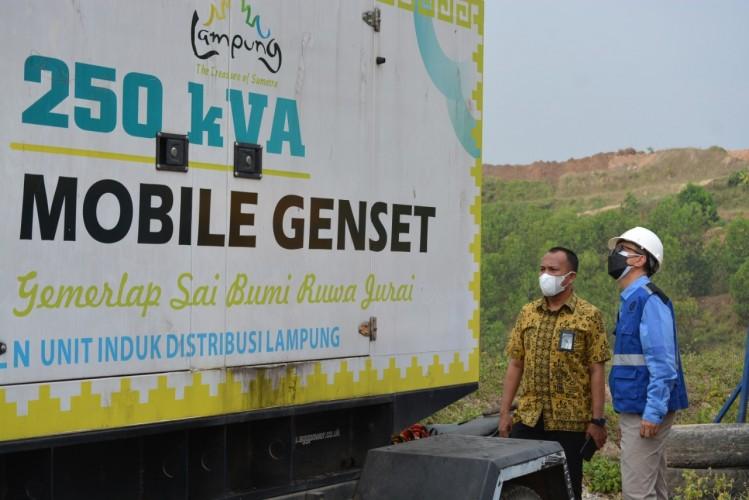 Sukseskan Kunjungan Kerja RI 1 ke Lampung, PLN Siagakan Personel Jaga Pasokan Listrik