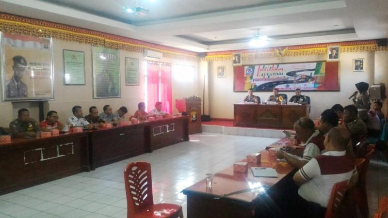 Sukseskan Millennial Road Safety Festival, Polres Lambar Undang TNI dan OPD