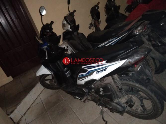 Sul, Komploton Pencuri Motor Dibekuk Satreskrim Bandar Lampung