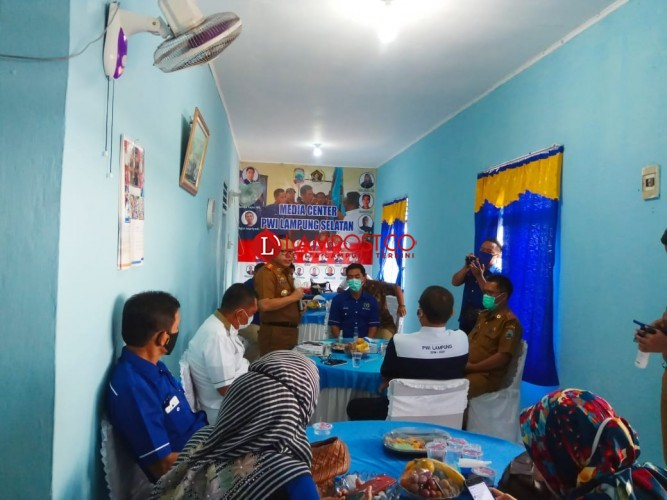 Sulpakar Apresiasi Bincang Santai PWI Lampung Selatan