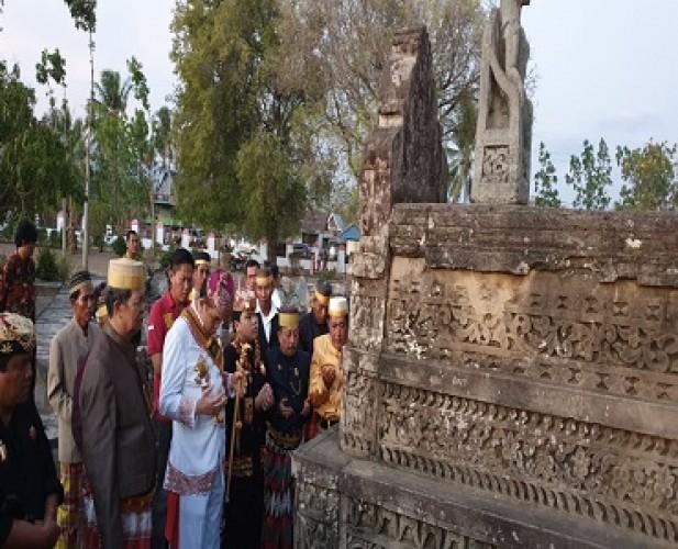 Sultan Kepaksian Pernong Skala Bkhak Silaturahmi dengan Raja Gowa