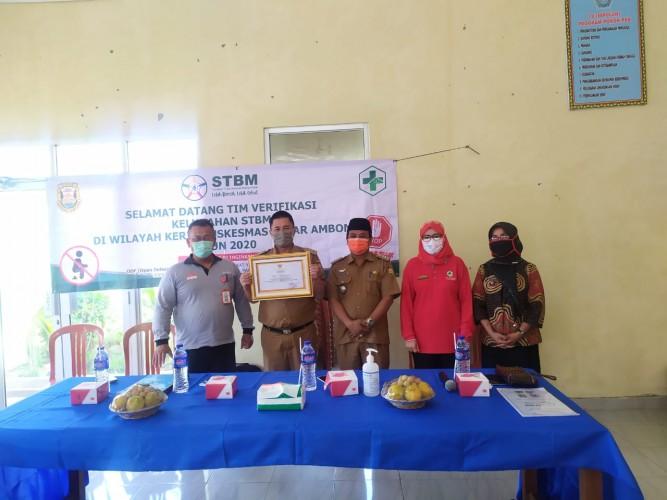 Sumur Putri Raih Predikat Kelurahan STBM Ke-4 di Bandar Lampung