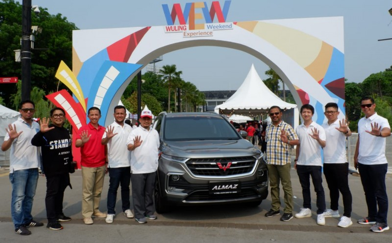 Super Wuling Experience Weekend Sukses Digelar di Jakarta