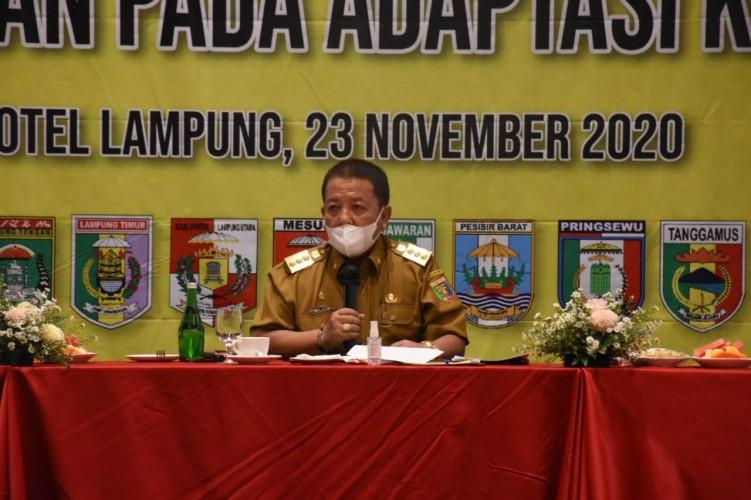 Survei BPS: 55 Persen Masyarakat Lampung Tak Patuhi Prokes