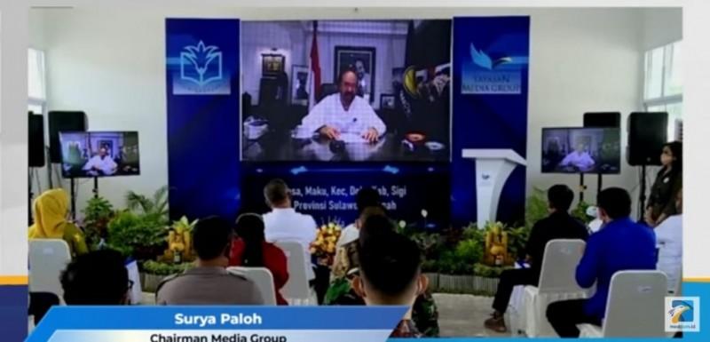 Surya Paloh Puji Kepedulian Masyarakat Indonesia di Sektor Pendidikan