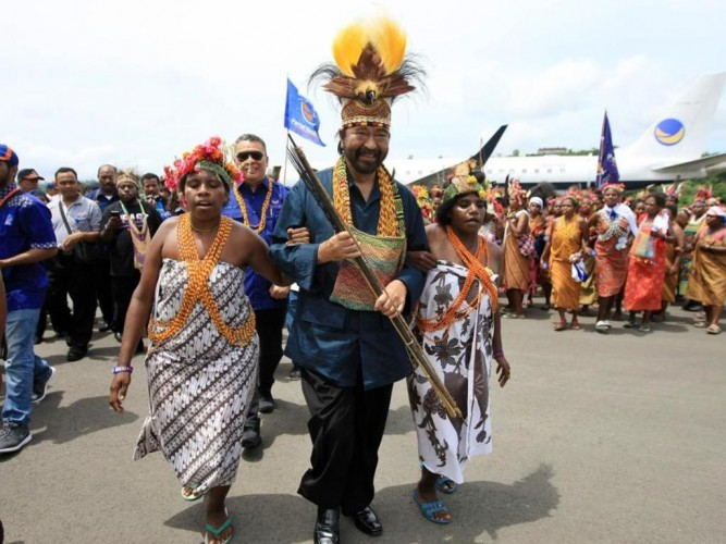 Surya Paloh Sebut Luka Papua Adalah Luka Bersama