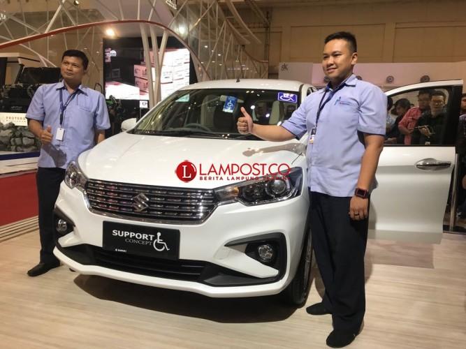 Suzuki All New Ertiga Support Concept untuk Penyandang Disabilitas