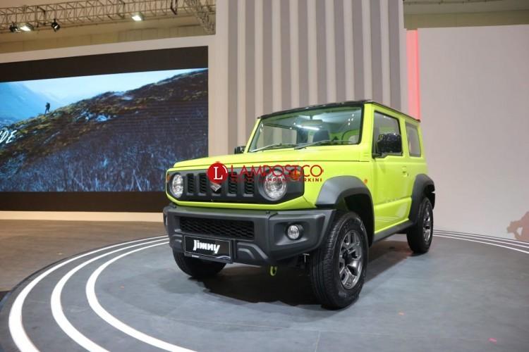 Suzuki Jimny Resmi Mengaspal, Ini Harganya