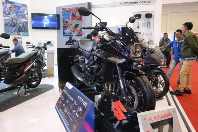 Suzuki Sebut Motor Katana Sudah Ada Peminat