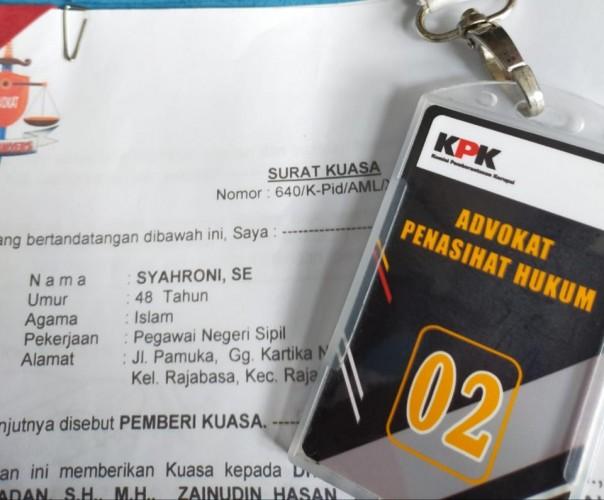 Syahroni Minta Sidang Digelar di Lampung
