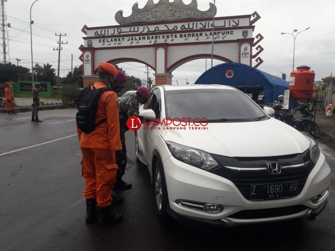 Tak Bawa Hasil Rapid, Pendatang Masuk Bandar Lampung Putar Balik