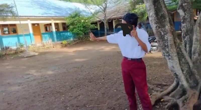 Tak Naik Kelas, 5 Siswa SD di Pesawaran Pecahkan Jendela Sekolah Pakai Ketapel