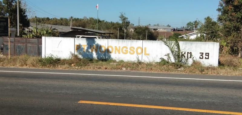 Tak Tahan Polusi, Warga Katibung Ancam Demo ke PT Woongsol