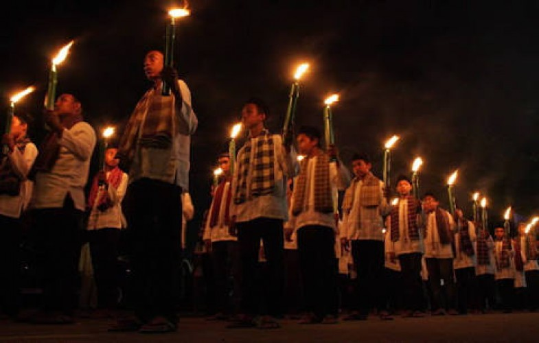 Takbir Keliling Sambut Idulfitri di Mesuji