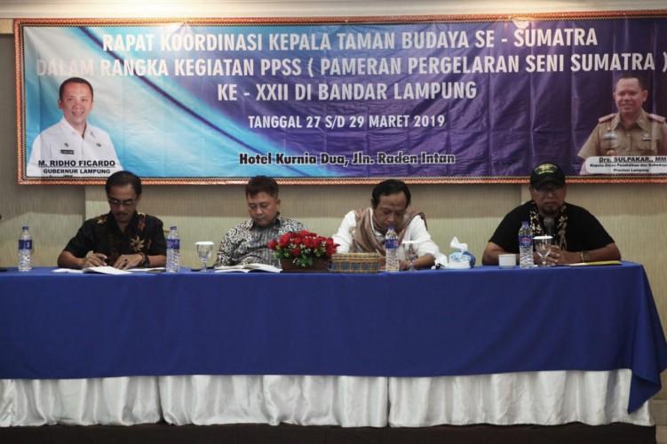 Taman Budaya Lampung Siap Gelar PPSS XXII
