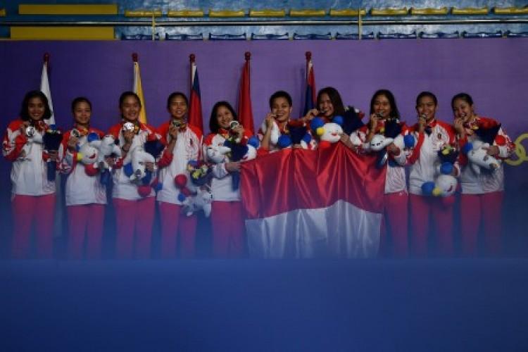 Tambah 10 Emas, Indonesia Menyodok ke Tiga Besar