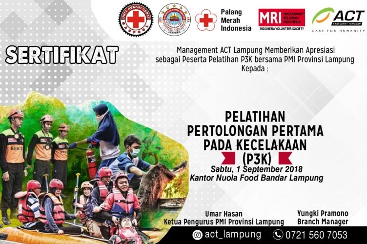 Tambah Wawasan, Mitra Ojek Online Ikuti Pelatihan P3K