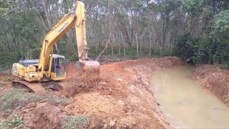 Tangani Banjir, PUTR Mesuji Normalisasi Sungai