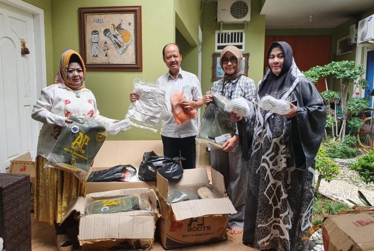 Tanggap Covid-19, Pengusaha Asal Lampung Salurkan Bantuan APD