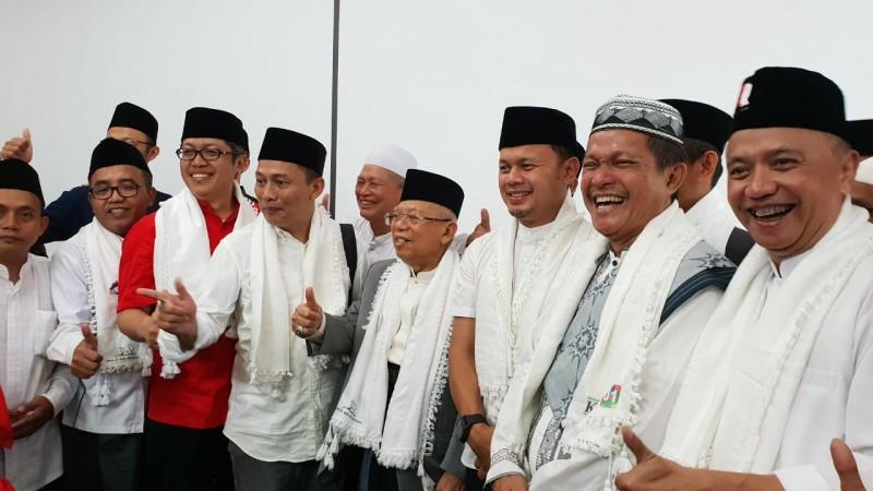 Tanggapi Prabowo, Kiai Ma'ruf: di TPS itu Nyoblos, Bukan Lebaran