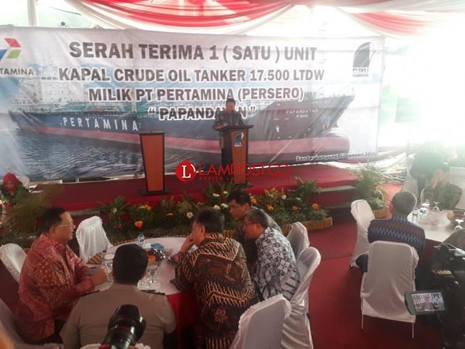 Tanker Papandayan Buatan PT DRU Berteknologi Canggih
