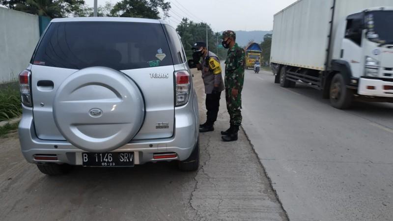 Tanpa Surat Covid-19, Pengendara Dilarang Masuk Bandar Lampung