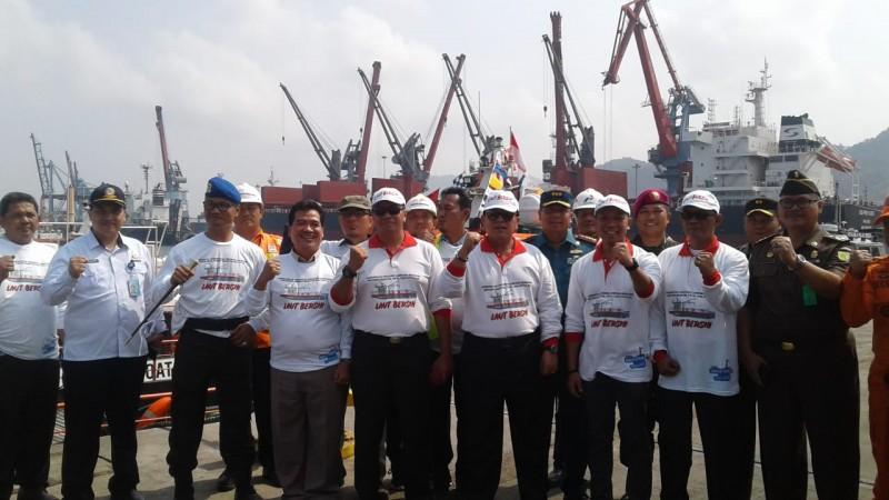 Target Bersihkan 30% Sampah Laut, KM Telok Betong IPC Beroperasi Tiap Hari