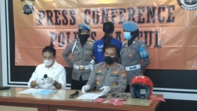 Target Sate Bersianida Diduga untuk Istri Polisi