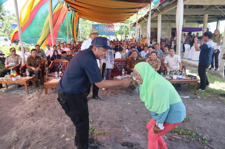 Taufik Basari: Pembangunan TPI Pesibar Saya Perjuangkan