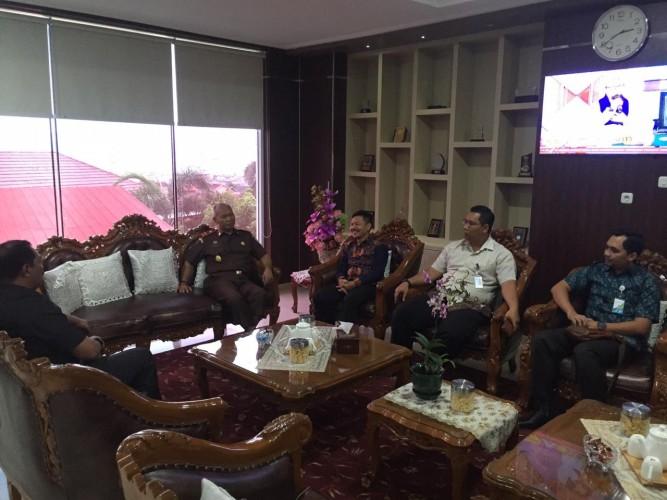 Tegaskan Regulasi, BPJSTK Bandar Lampung Eratkan Kerja Sama dengan Kejati Lampung