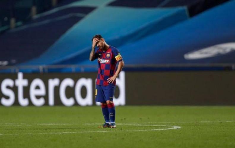 Tekad Bulat Messi Hengkang dari Barcelona