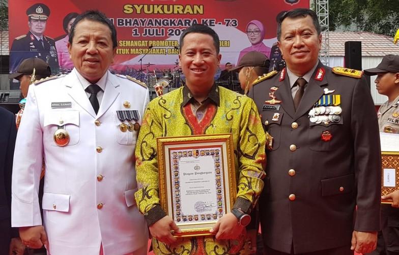 Berdedikasi Terhadap Polri, Teknokrat dapat Penghargaan pada HUT Ke-73 Bhayangkara