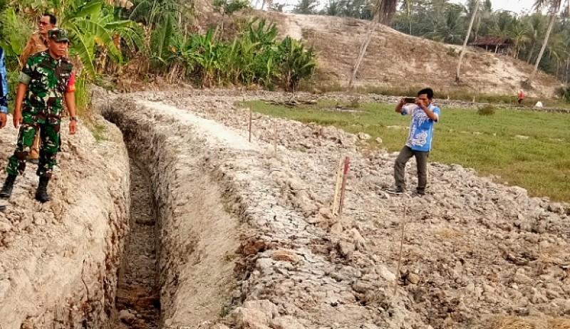 Tekstur Tanah Keras Hambat Program Serasi di Sragi