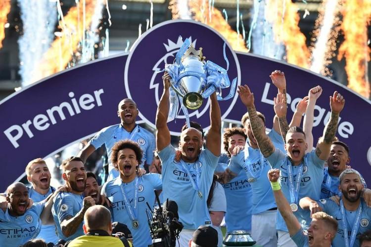 Tekuk Brighton, Manchester City Juara Liga Inggris
