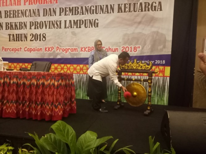 Telaah KKBPK, BKKBN Lampung Kupas Program Kerja
