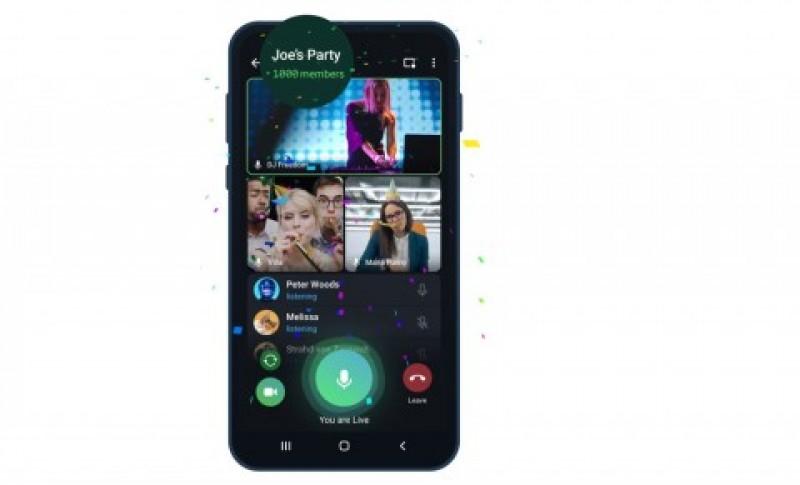 Telegram Hadirkan Fitur Video Call dengan 1.000 Pengguna Sekaligus