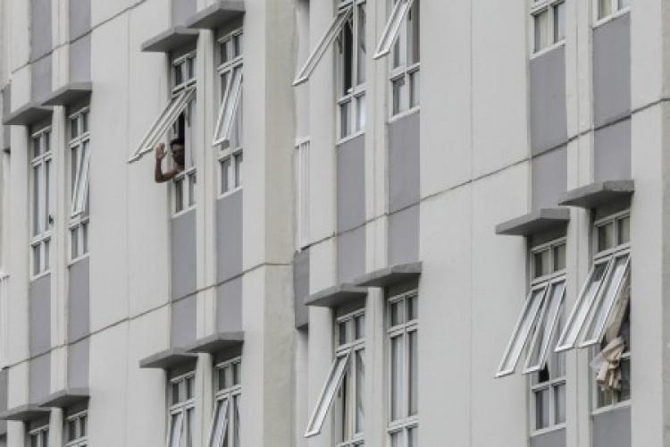 Tempat Tidur Terpakai di Wisma Atlet Turun Jadi 44,8%
