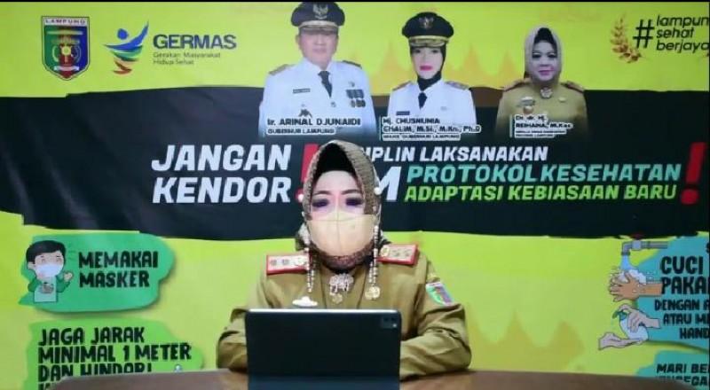Tempat Umum di Zona Merah Lampung akan Ditutup