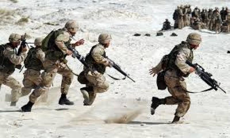 Tentara AS Diserang