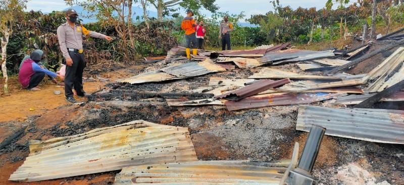 Terbakar, Rumah Warga di Batuketulis Rata dengan Tanah