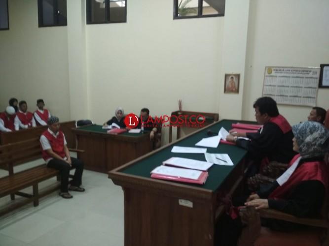 Terdakwa Bentrok di Bumiratu Nuban Divonis 1,10 Tahun Penjara