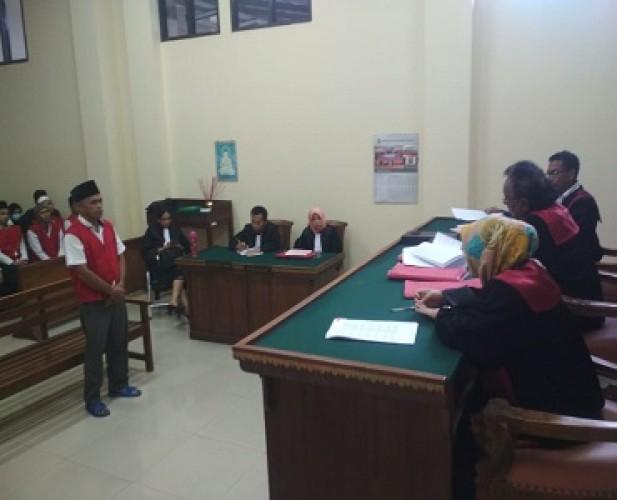 Terdakwa Fidusia Divonis 1 Tahun Penjara