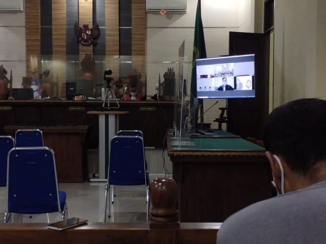 Terdakwa Korupsi Pajak Minerba Lamsel Divonis 4 Tahun Penjara