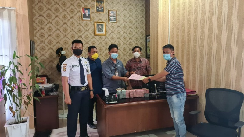 Terdakwa Korupsi Sekretariat DPRD Tulangbawang Cicil Pengembalian Duit Negara