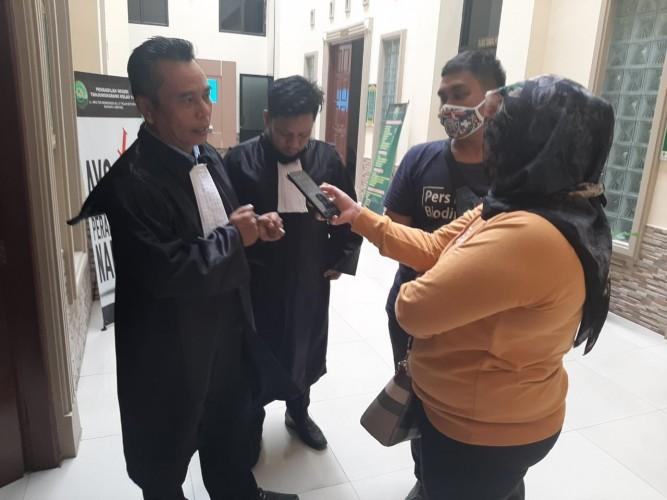 Terdakwa Sopian Minta Dibebaskan dari Dakwaan